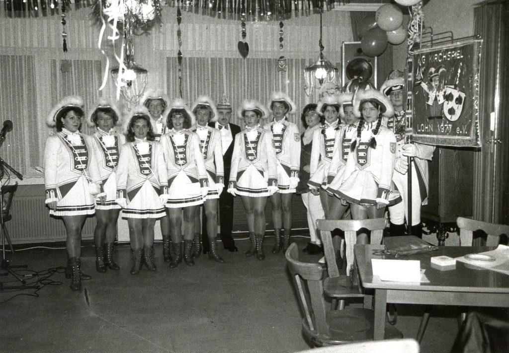 Gründung 2. Garde der KG Kirchspiel Lohn